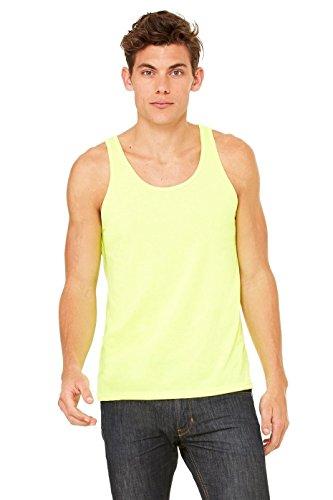 Bella, Motiv 3480 Unisex Jersey Big Tank Top Gelb - Neon Gelb