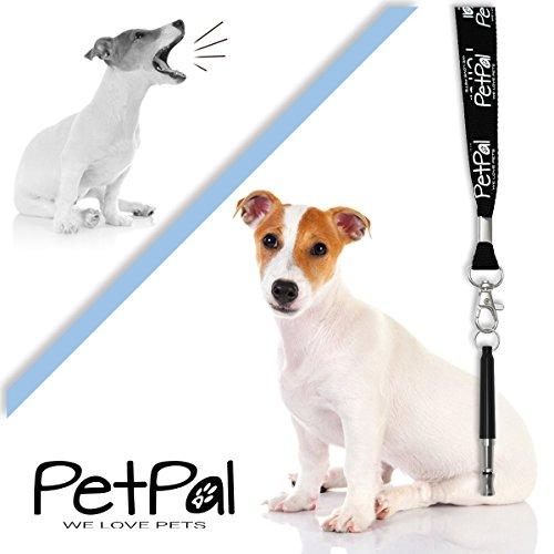 Hundepfeife von PetPäl – Premium Pfeife für Hunde Zubehör | #1 Bestseller für Einfaches Hundetraining & Welpen-Erziehung +Gratis Trainingstipps | Ultraschall Hundepfeifen mit Hochfrequenz Inklusive Umhänge Band | Bellen Stoppen & Kontrolle erlangen | Dog Whistle | Frequenz individuell einstellbar für Kommandos & Kunststücke - 4