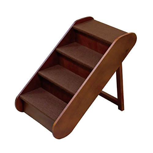 Artikelbild: Solvit PupSTEP Wood Stairs Sturdy Construction Safety Side Rails Step Large