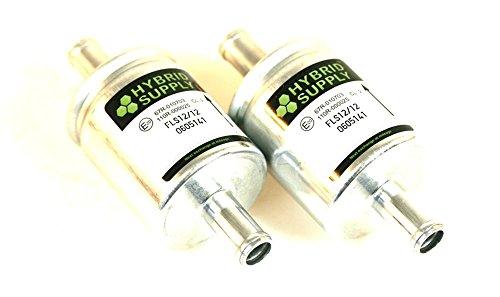 Preisvergleich Produktbild 2 x Gasfilter HS01S 14x14mm universell (Landi,  Landirenzo)