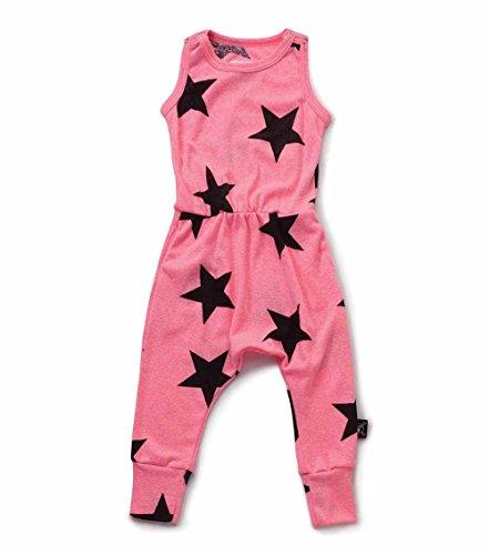 nununu Star Romper pink Gr. 10-11 Y ( 140-146)
