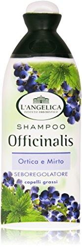 L'Angelica - Shampoo Seboregolatore Ortica E Mirto, Capelli Grassi - 250 Ml