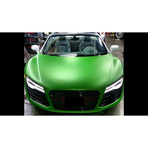Avery SW900 Matte Green Apple Metallic | 745-M | Vinyl CAR WRAP Film (5ft x 1ft (5 Sq/ft)) w/Free-Style-It Pro-Wrapping Glove (Apple-aufkleber Fiber Carbon)