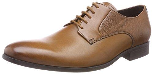 Clarks Herren Gilmore Lace Derbys, Braun (Tan Leather), 42.5 EU