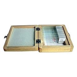 Omegon Dauerpräparate Set 20 Stück in Holzbox