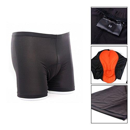 3D gepolstert Fahrrad Radfahren/Reiten kurze Hose Unterwäsche Shorts(S) M-FS001S