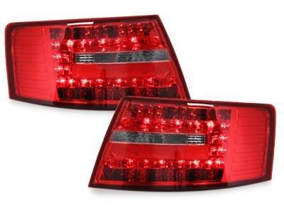 Audi A6 4F Limousine Rückleuchten LED rot klar