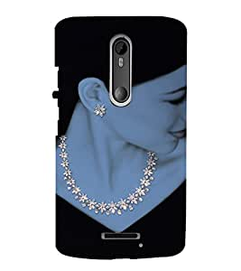 EPICCASE Jewel art Mobile Back Case Cover For Moto X 3rd Gen (Designer Case)