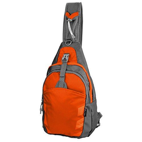 LC Prime Sling Rucksack Chest Bag, Umhängetasche Daypack Brusttaschen Schultertasche für Damen und Herren -