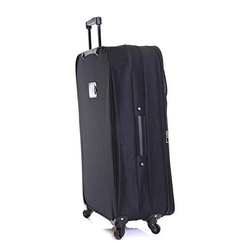 Slimbridge Andalusien 79cm Erweiterbar Koffer, Lila Schwarz