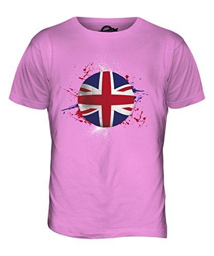 CandyMix Großbritannien Fußball Herren T Shirt Rosa