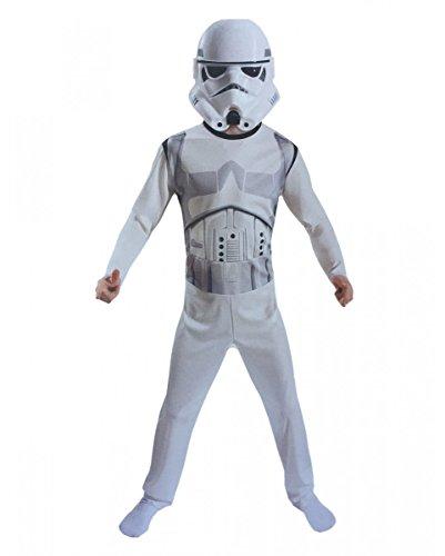 s Storm Trooper Kinderkostüm mit Maske für Fasching & Halloween (Storm Trooper Halloween)
