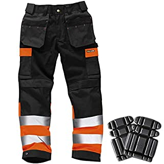 Army And Workwear Colour: Black/Orange | Size: 36S