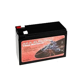 AKA Electric Batterie 12V 9Ah AKA (Vlies - wartungsfrei) - für MZ ETZ 125, ETZ 150, ETZ 250, ETZ 251, ETZ 300