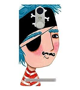 EPICCASE Pirate cute boy Mobile Back Case Cover For Lenovo K5 Note (Designer Case)