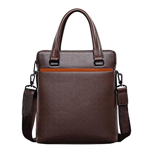 Business Taschen Schultertasche Mode Männer Handtasche Messenger Bag Freizeit Mode Wild Brown2