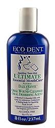 Eco-Dent International - Ultimate Natural Dailyrinse Clean Mint, 8 fl oz liquid