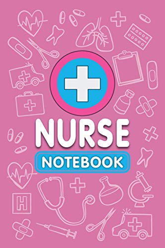 Nurse Notebook, Fun Play Journal For Boys & Girls: A Blank Lined Notebook for Kids Play, Games & Fun (Pink Color Cover)