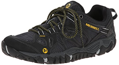 Merrell All Out Blaze Aero Sport Scarpe da arrampicata Uomo, Black, 41.5 EU (7.5 UK)