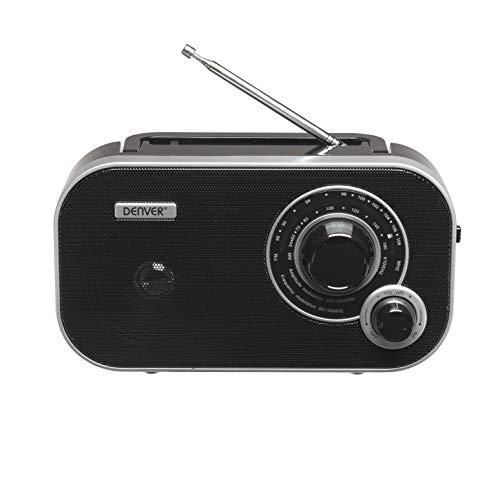 Radio DENVER TR-54 con Sintonizzazione Analogica AM/FM. Ingresso AUX