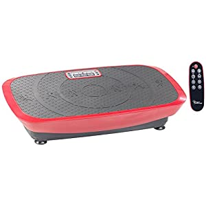 newgen medicals Vibrationsboard: Breite 3D-Vibrationsplatte WBV-600.3D, 500 Watt, 20 Frequenzen & Timer (Vibratorplatte)
