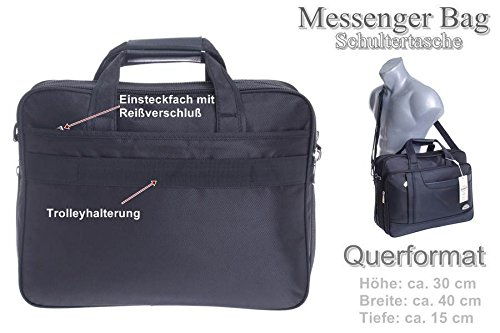 Eliox Borsa Messenger nero modello 2 modello 2