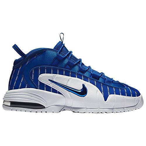 Nike Herren Air Max Penny Basketballschuhe, Mehrfarbig (Deep Royal/Amarillo-White 401), 44 2/3 EU -