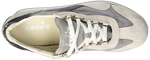 Diadora Equipe Stone Wash 12, Chaussures Basses Mixte Adulte Blanc