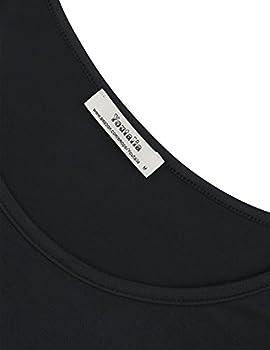 Youtalia Casual Long Sleeve Tops Women, Ladies Round Neck A Line Irregular Hem Patchwork Tie Dye Blouse Shirts(black,medium) 2