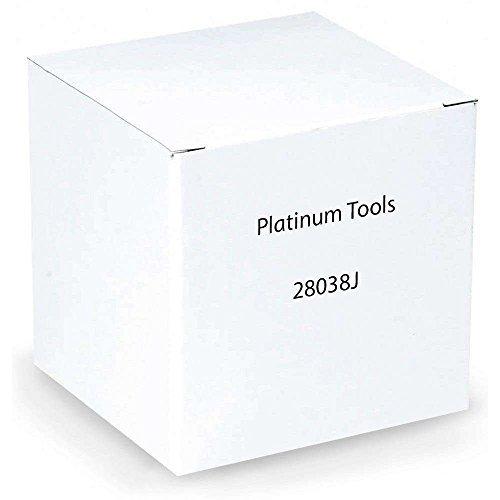 Platinum Tools 28038J BNC RG6 Compression Connector, Nickel 40/Jar, Pack of 40 by Platinum Tools Rg6 Pack