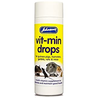 Johnsons Hamster and Gerbil Vit-Min Drops, transparent 7