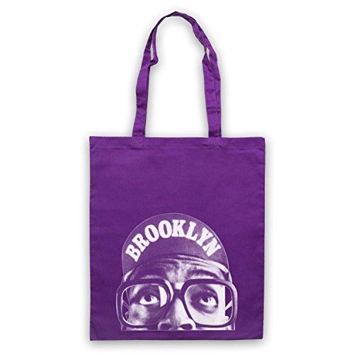 Inspire par Spike Lee Brooklyn Officieux Sac d'emballage Violet