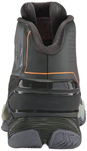 Under Armour Longshot Basketball Scarpe Artillerie Vert / Atlas Vert