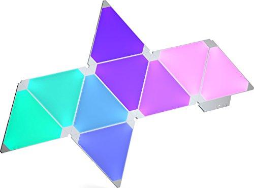 nanoleaf Aurora – 9x Modulare Smarte LED – Lichtpanels mit App Steuerung - 11