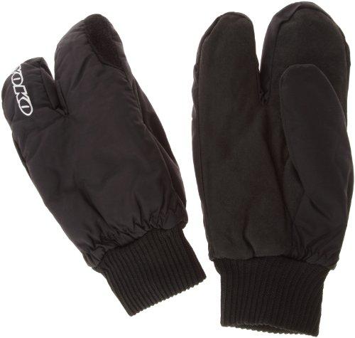 Yoko Herren Lobster Langlauf Handschuhe Basic Arctic, Schwarz, X-small (Herstellergröße: 7)
