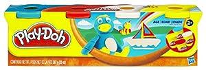 Play-Doh - Pack de 4 botes (Hasbro 22114E24)