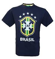 Collection officielle Equipe du Brésil de Football. T-shirt Seleçao BRESIL. Taille adulte homme. Haute qualité, matière 100% coton . Lavable en machine. Produit sous licence officielle, marque protégée.