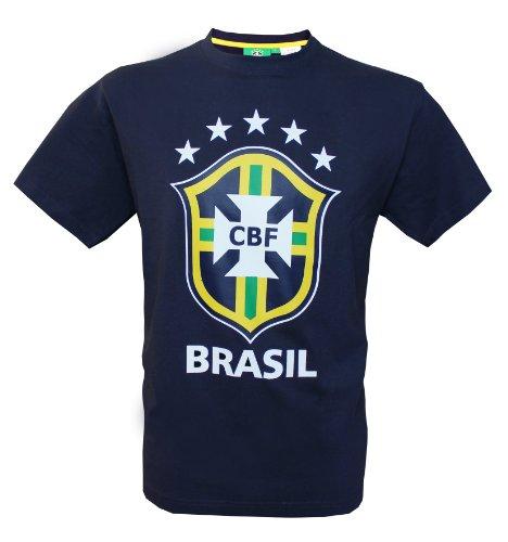 Seleçao Brasil – Maglietta collezione ufficiale squadra di calcio del Brasile – dimensioni per adulto Uomo