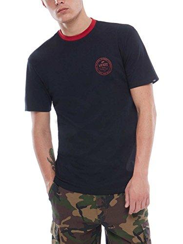Vans_Apparel Established 66 Ringer, Camiseta para Hombre,...
