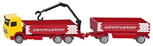 Siku 1797 - Baustoff-LKW mit Anhänger Fahrzeuge