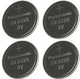 Multi Pack 4 X Panasonic CR2025 3V Litio DL2025 Baterias Coin Cell