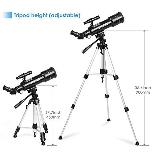 Zoom IMG-1 intey telescopio astronomico riflettore lente