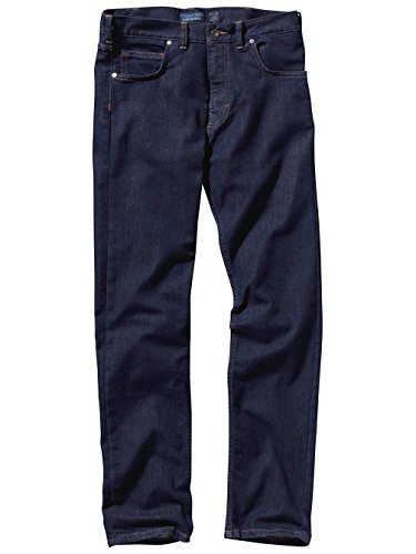 Herren Jeans Hose Patagonia Performance Straight Fit Jeans Dark Denim