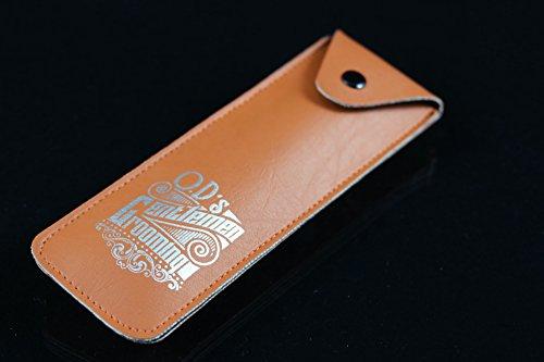 O.D´s Gentlemen Grooming Shavette - Handgefertigtes Rasiermesser mit Holzgriff Abbildung 2
