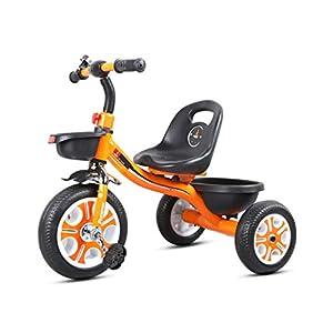41%2BvF12C2JL. SS300 GYF Triciclo per Bambini| 2 in 1 Triciclo per Bambini 3 Ruote Bici da Bambino Bilanciamento Leggero Trike Bicicletta da Allenamento per Bambini Bambini Ragazzi Ragazze 12-38 Mesi ( Color : Orange )