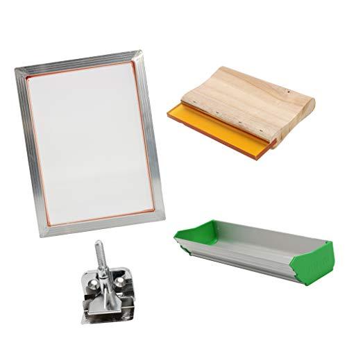 FLAMEER Kit Máquina Serigrafía Bricolaje