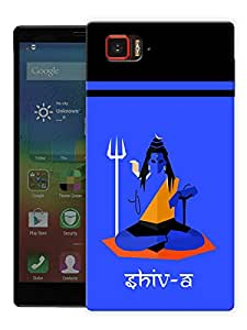 "Humor Gang Shiva Art - Hindu God Printed Designer Mobile Back Cover For ""Lenovo Vibe Z2 Pro K920"" (3D, Matte Finish, Premium Quality, Protective Snap On Slim Hard Phone Case, Multi Color)"