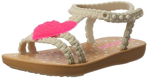 First Baby Lauflernschuhe, Mehrfarbig (Brown/Pink), 25/26 EU (Mädchen Ipanema Flip Flops)