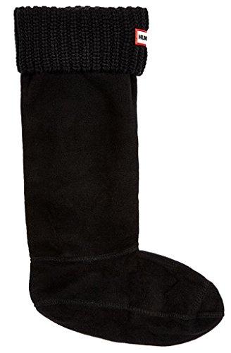 HUNTER Socken schwarz L