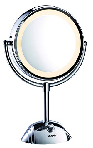 BaByliss 8438E ROUND LIGHTED MAGNIFYING MIRROR X1 X8 -